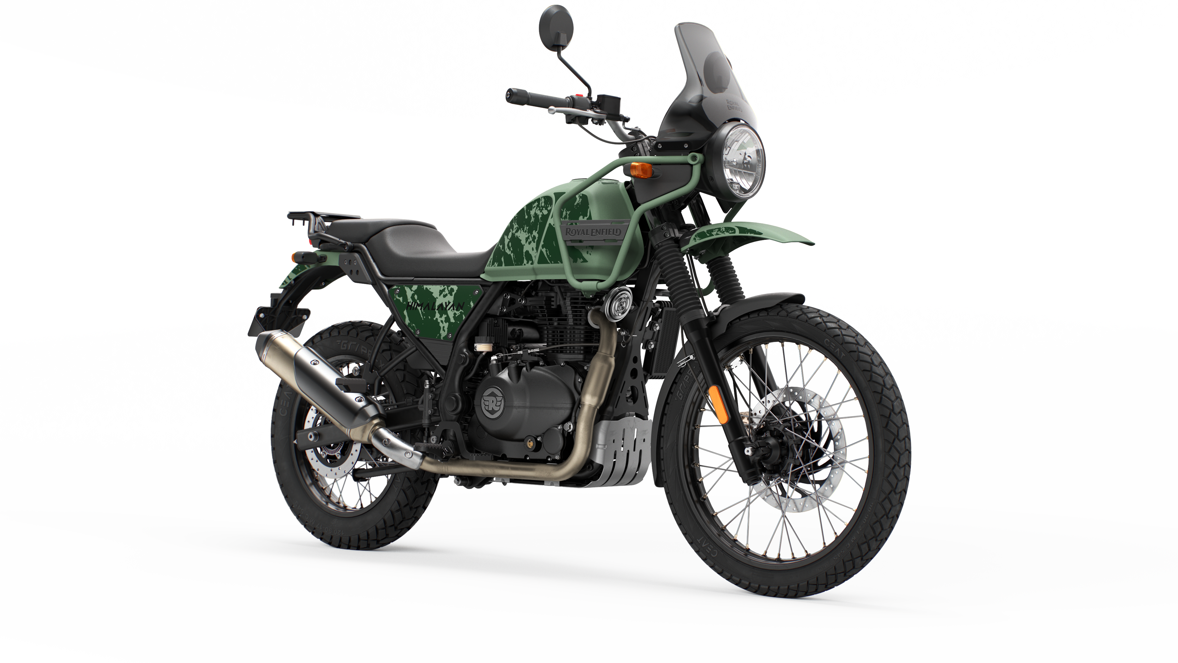 PINE GREEN Himalayan Dual Colour 2021 Euro 5