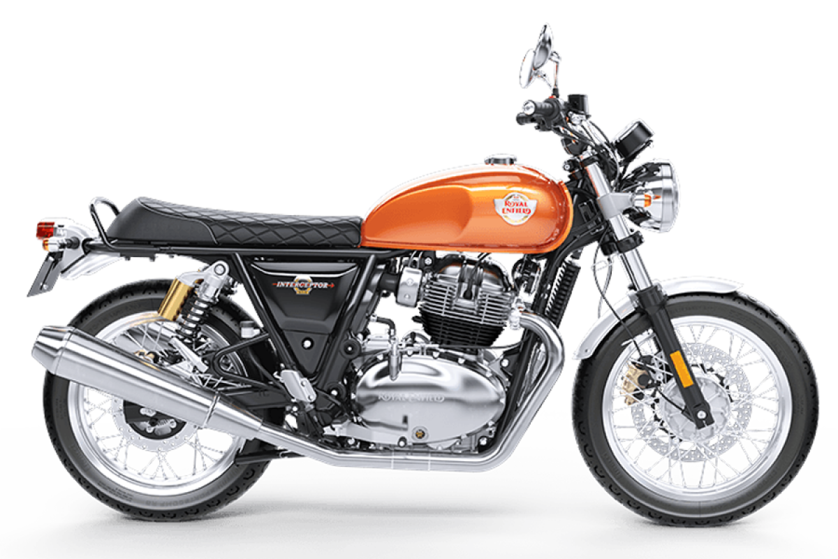 Orange Crush Interceptor INT 650 Twin