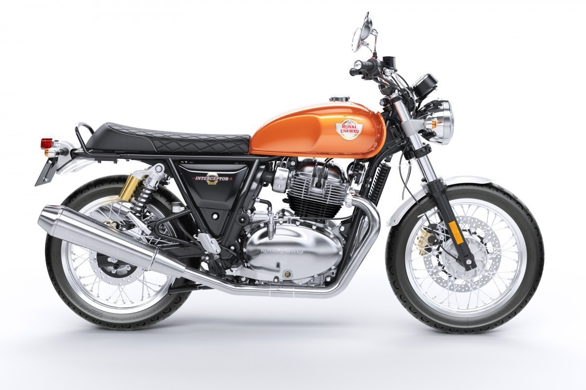 New Royal Enfield Interceptor INT 650 Twin