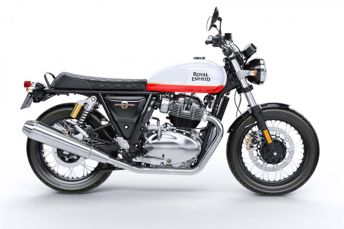 New Royal Enfield Interceptor INT 650 Twin (Dual Colour)