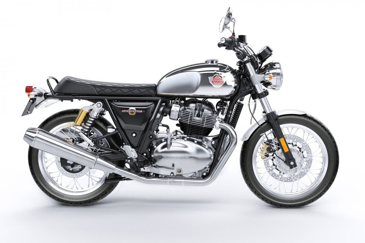 New Royal Enfield Interceptor INT 650 Twin Chrome