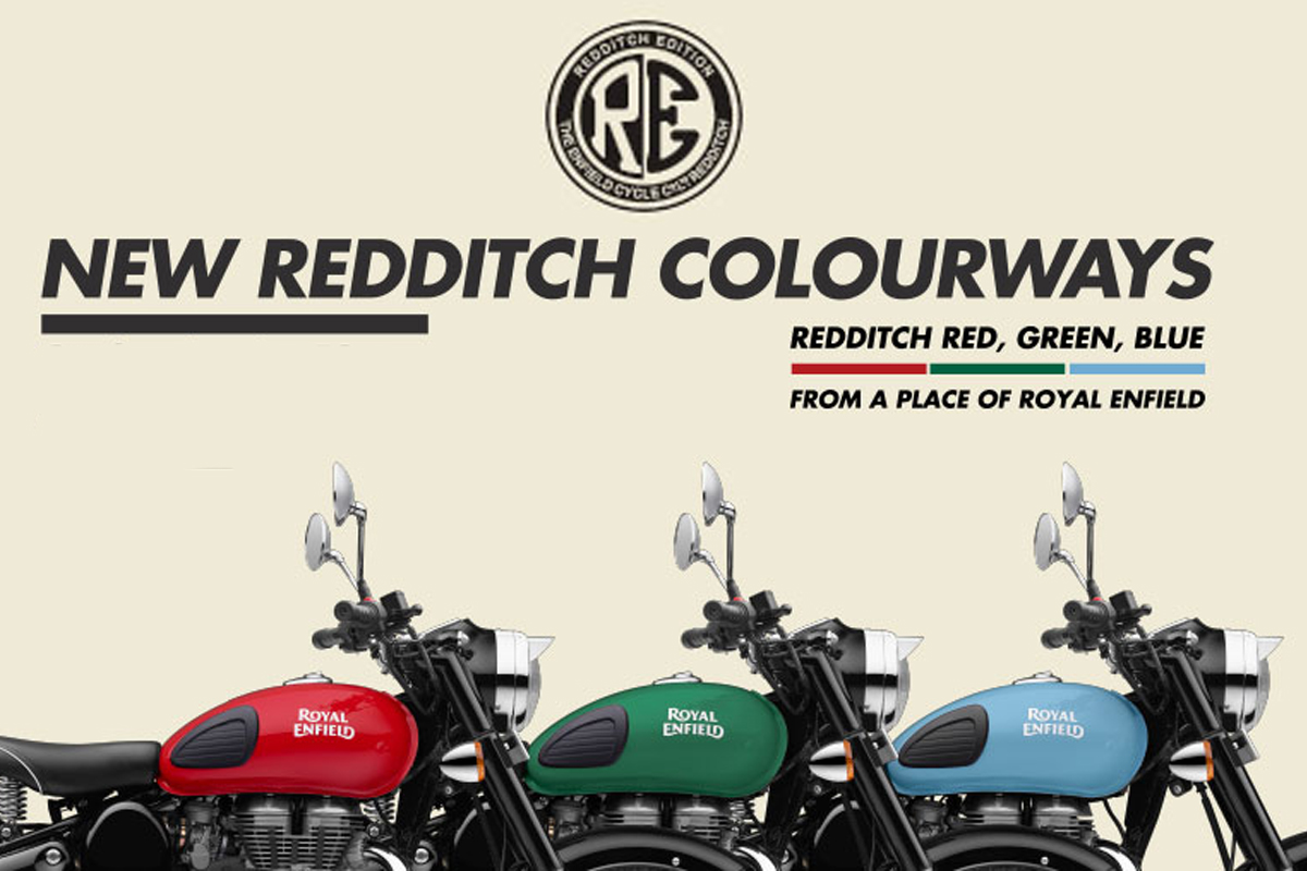 New Royal Enfield Redditch Edition