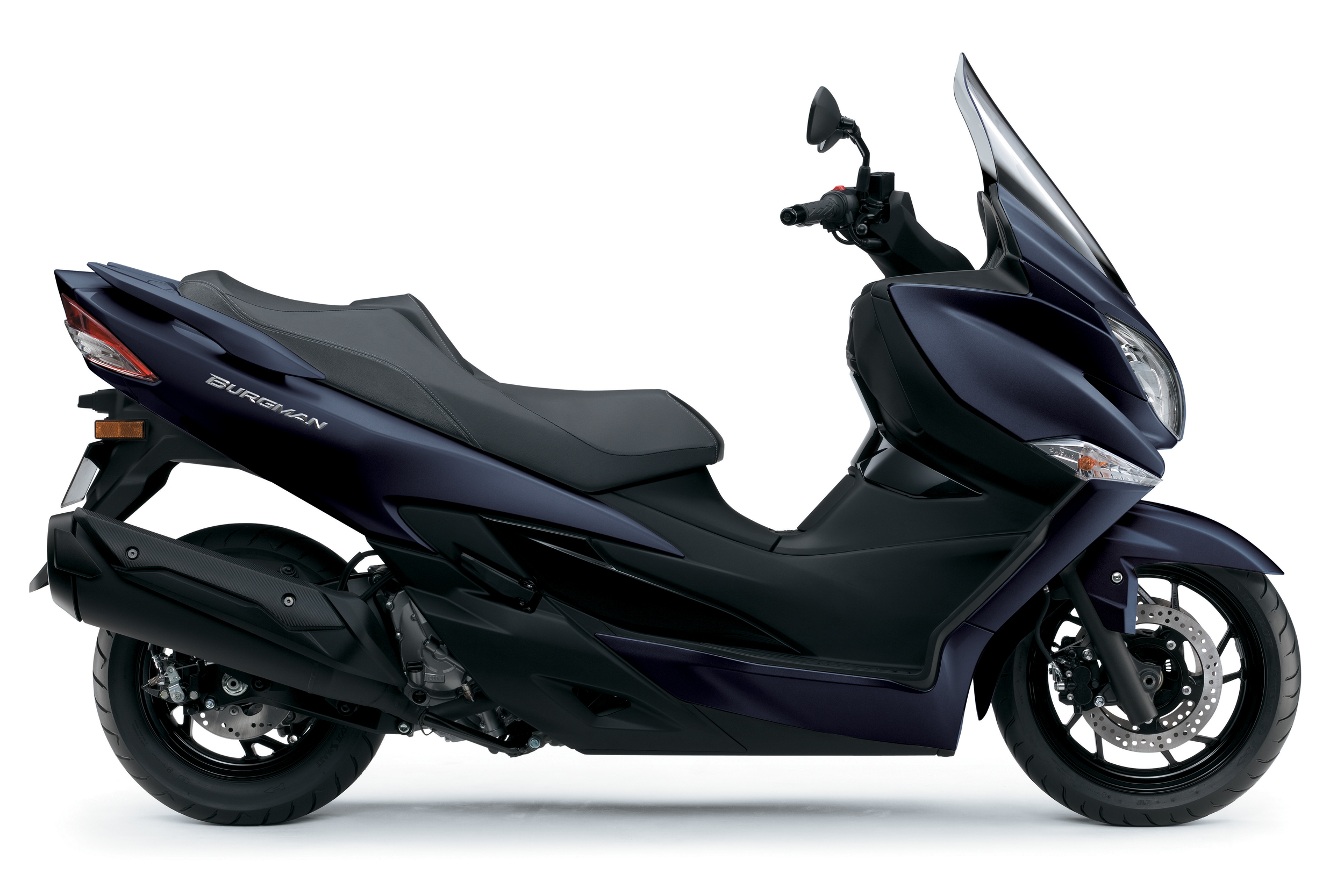 New BlueSuzuki Burgman 400