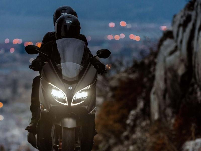 Suzuki Burgman 400 demo 2019
