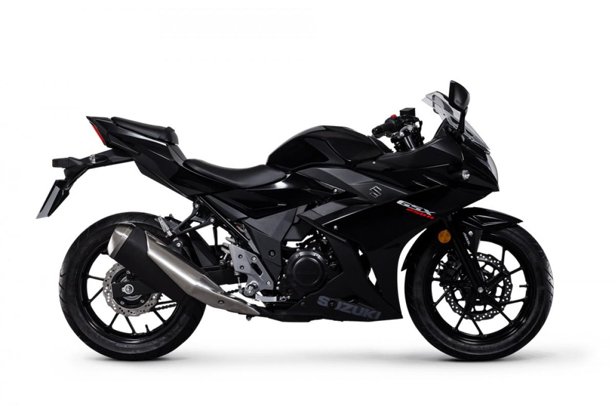 Black GSX-250R
