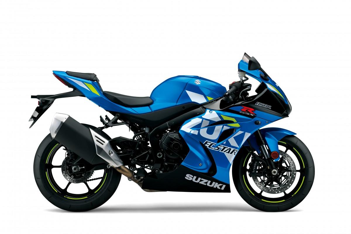 Blue GSX-R1000