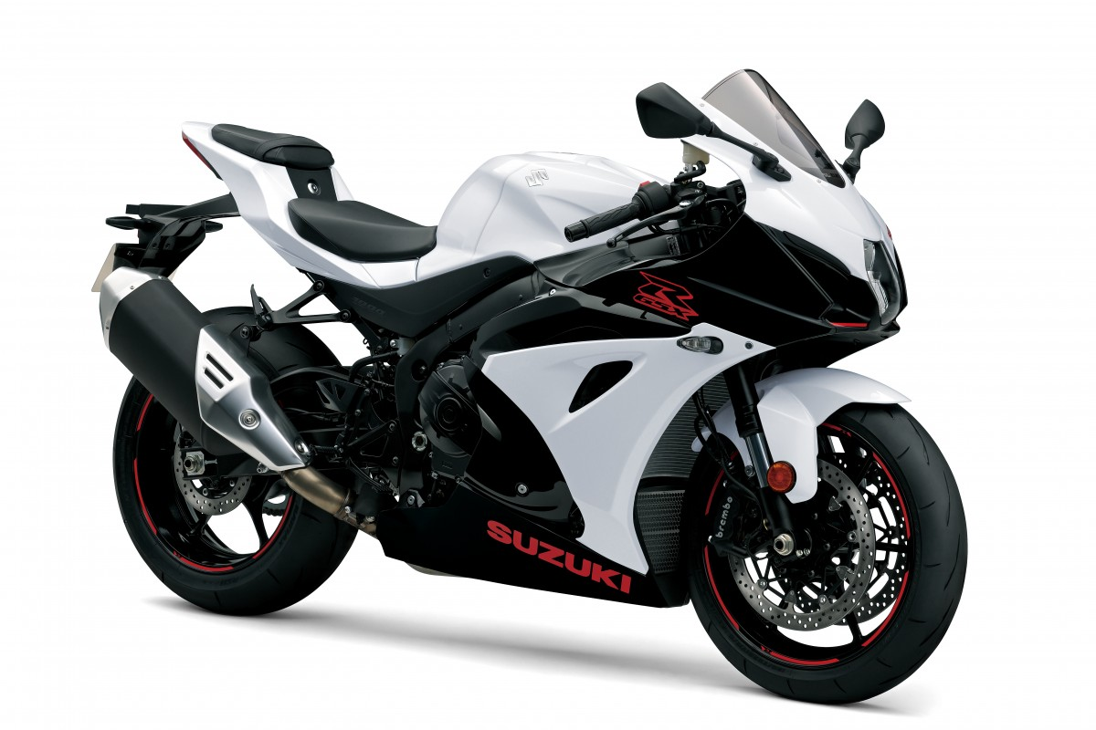 White GSX-R1000