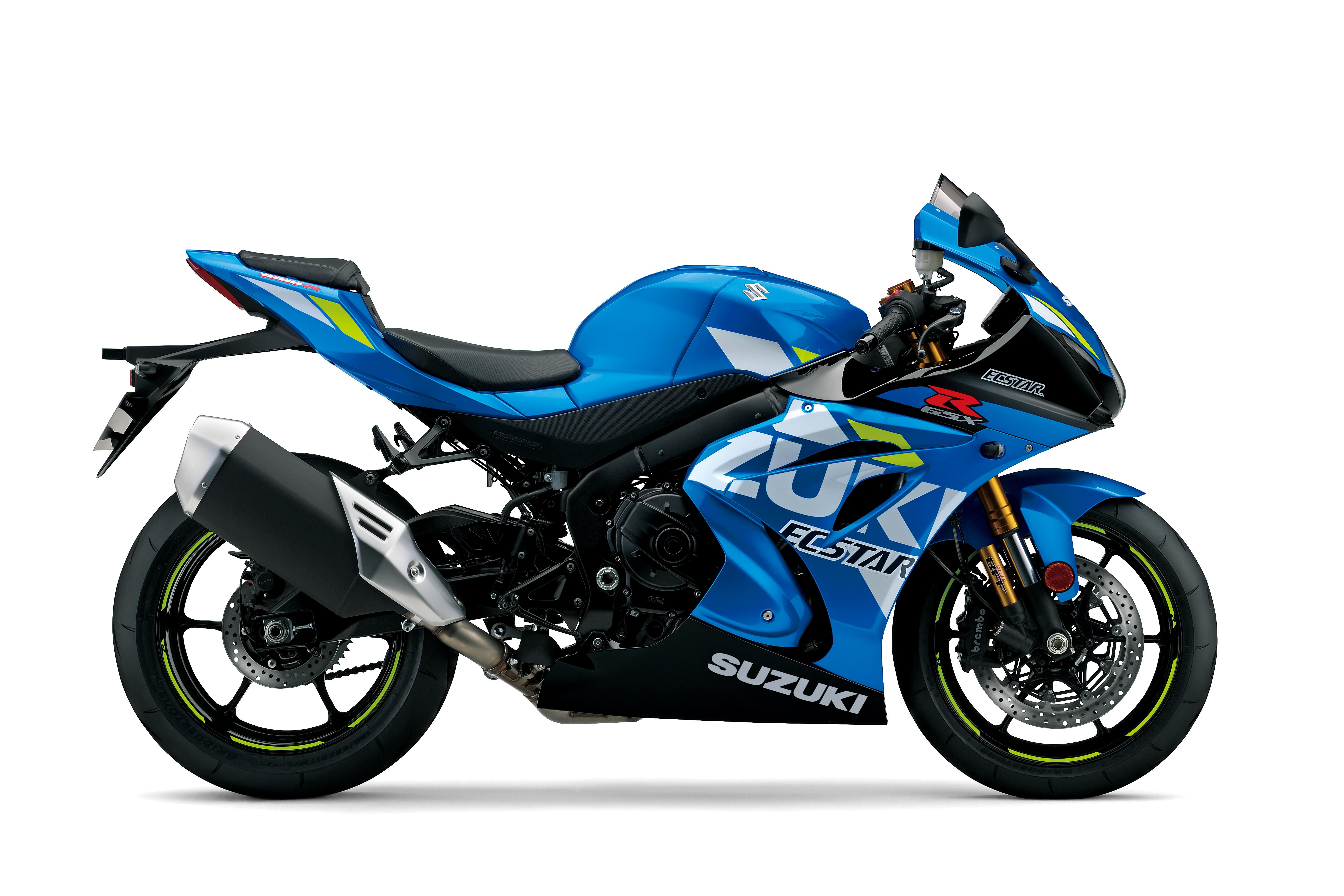 Blue GSX-R1000R