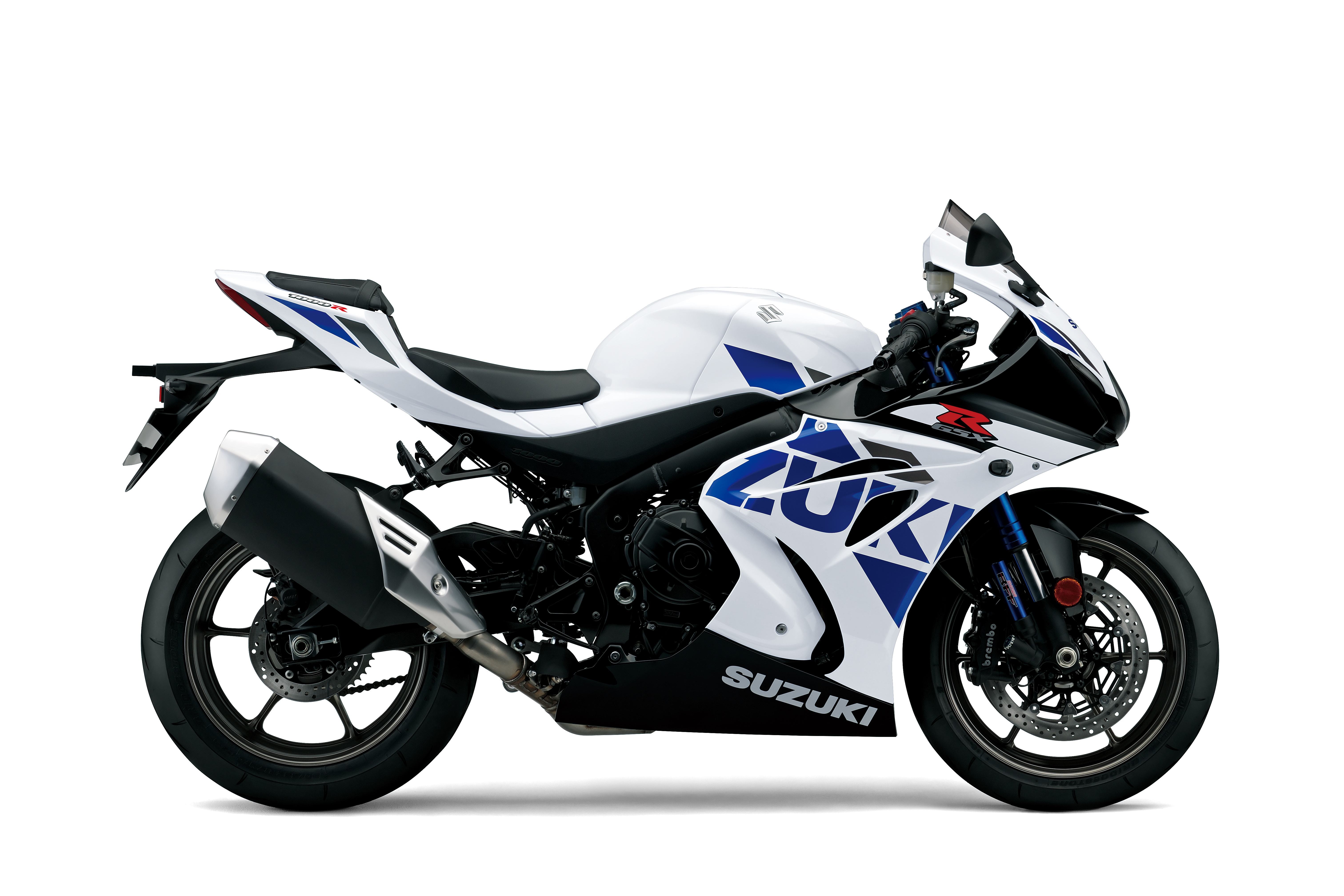 New WhiteSuzuki GSX-R1000R