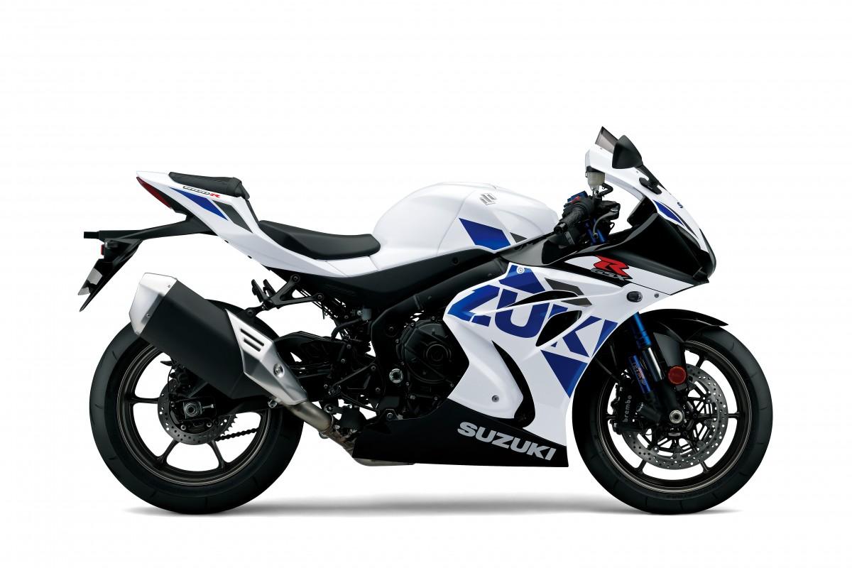 White GSX-R1000R ZAL8