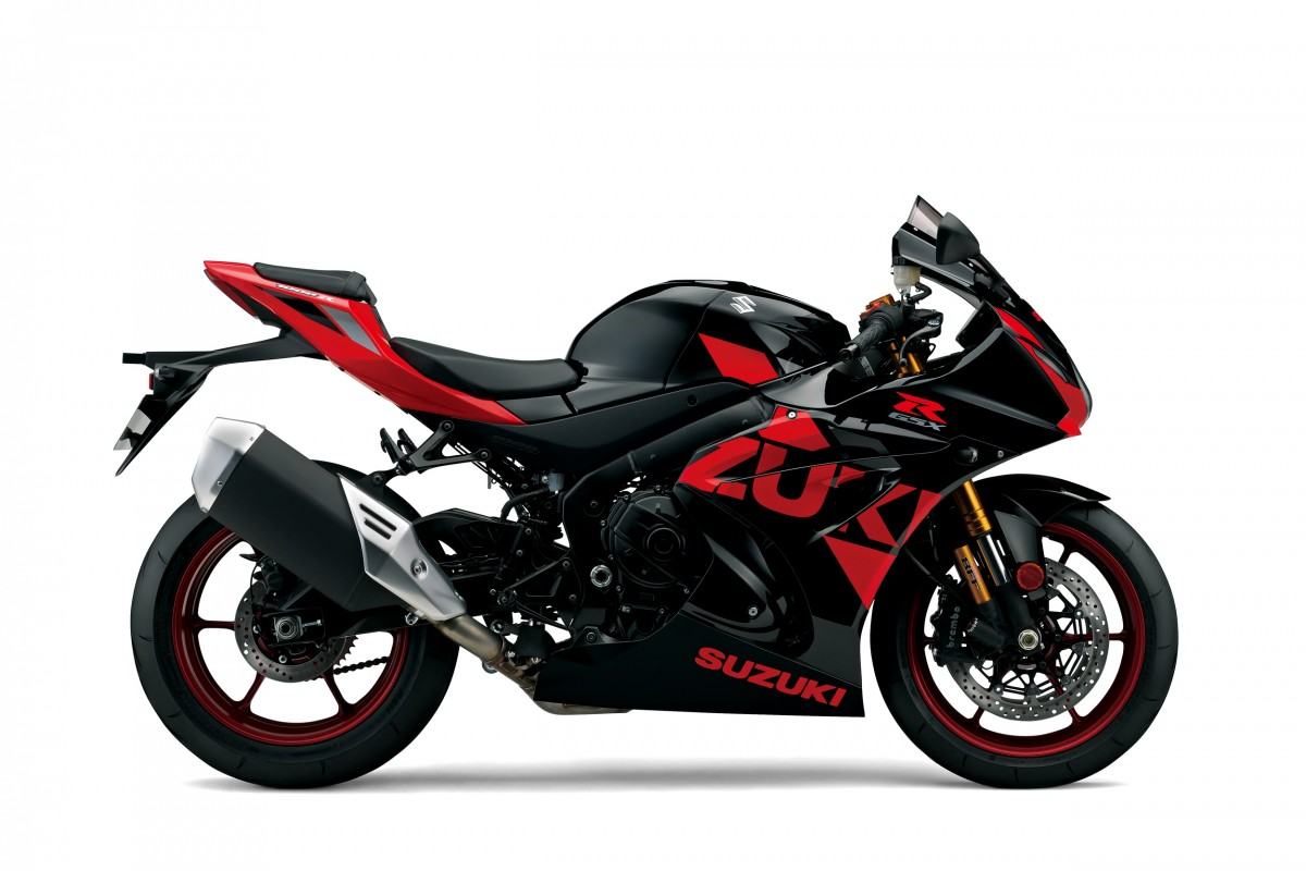 Glass Sparkle Black / Pearl Mira Red GSX-R1000R