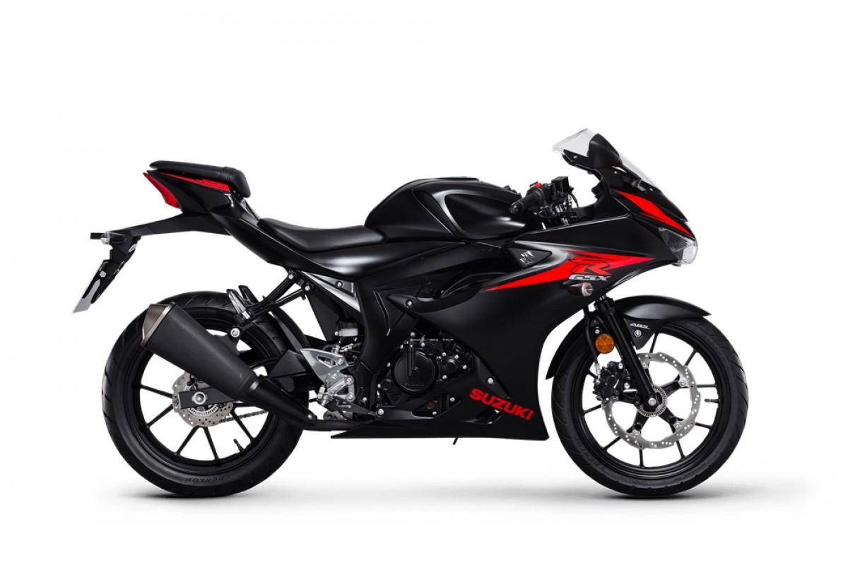 Black GSX-R125