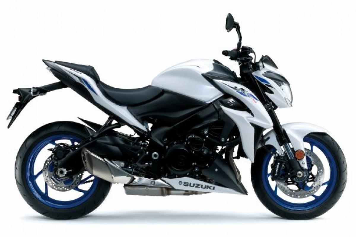 White GSX-S1000 ZAM0 2020