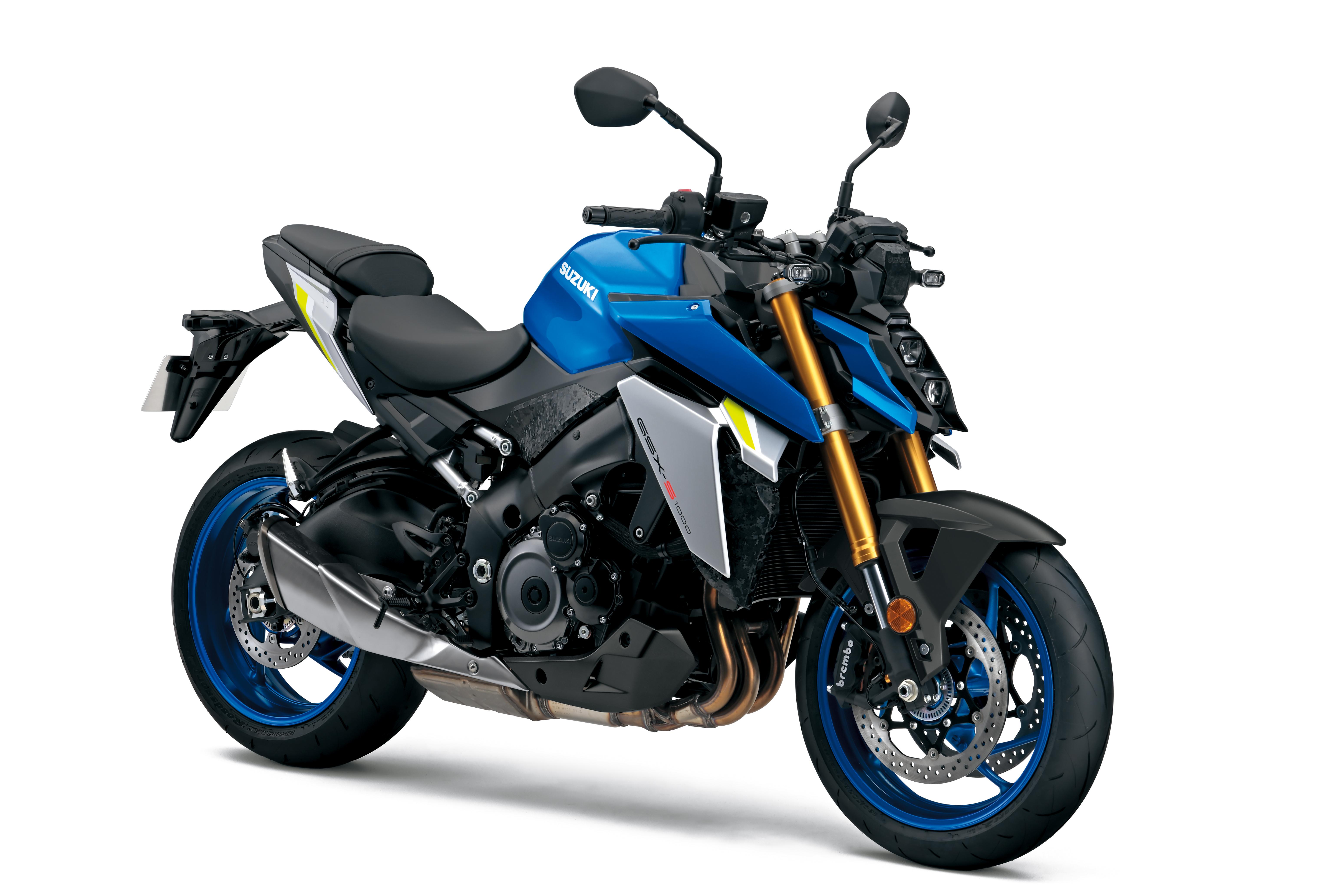 Metallic Triton Blue (YSF) GSX-S1000 2021 Model