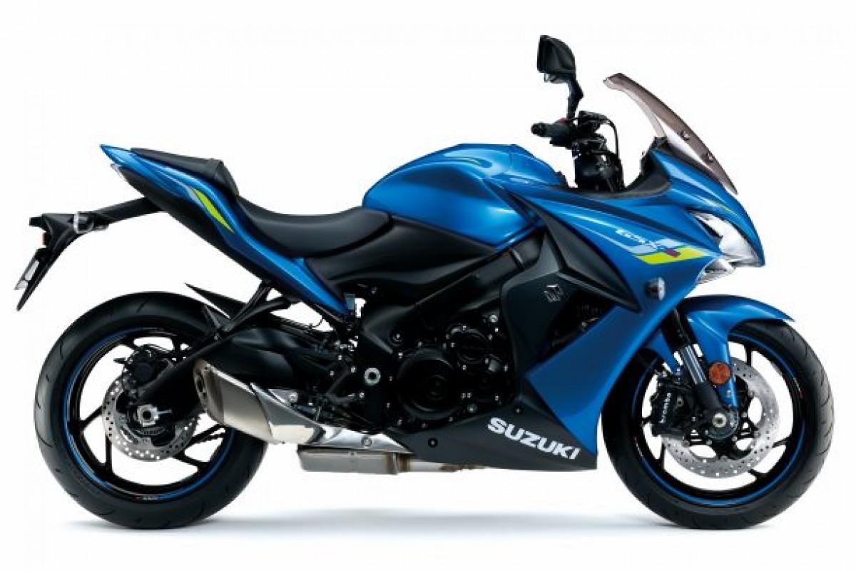 Blue GSX-S1000F