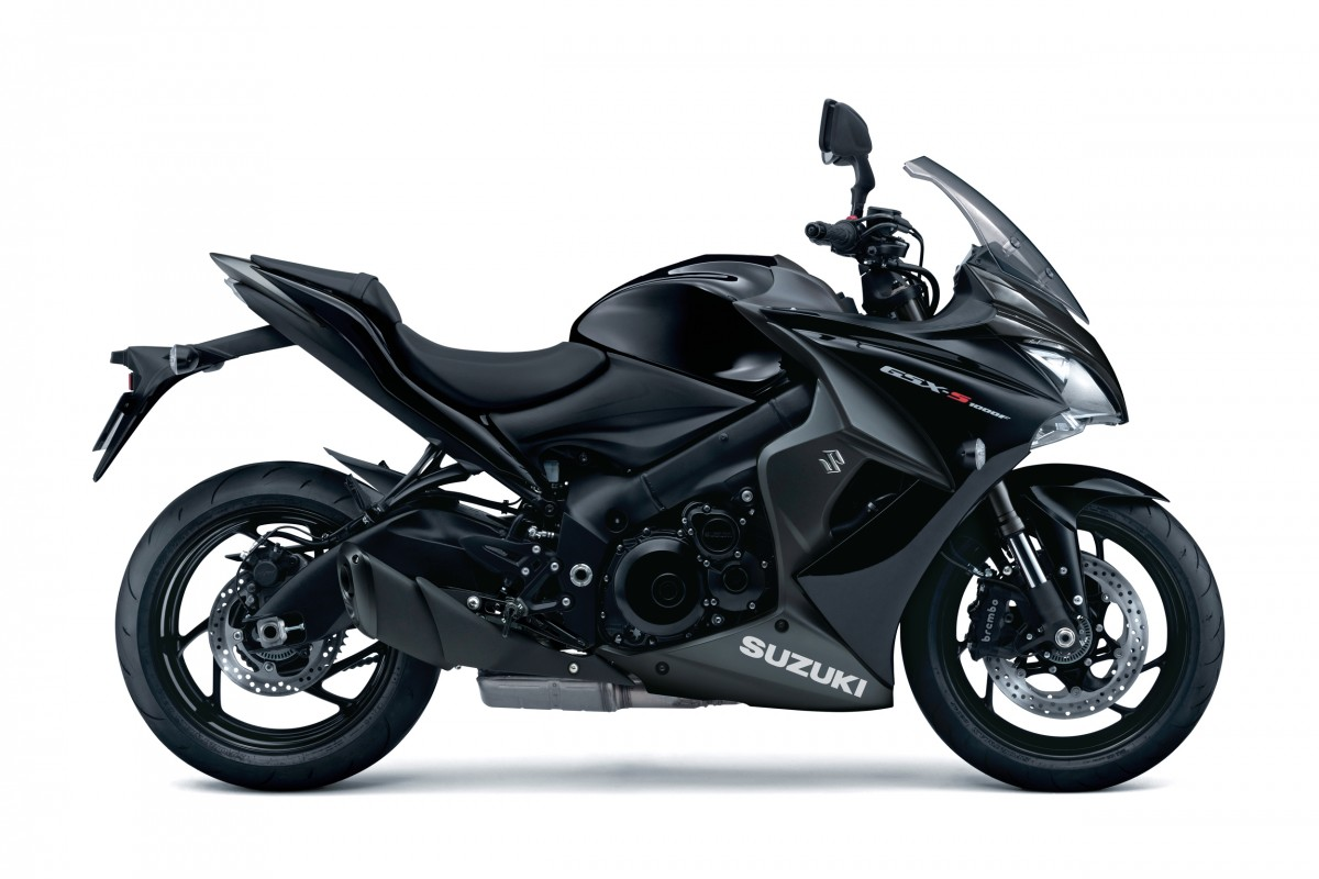 Glass Sparkle Black GSX-S1000F