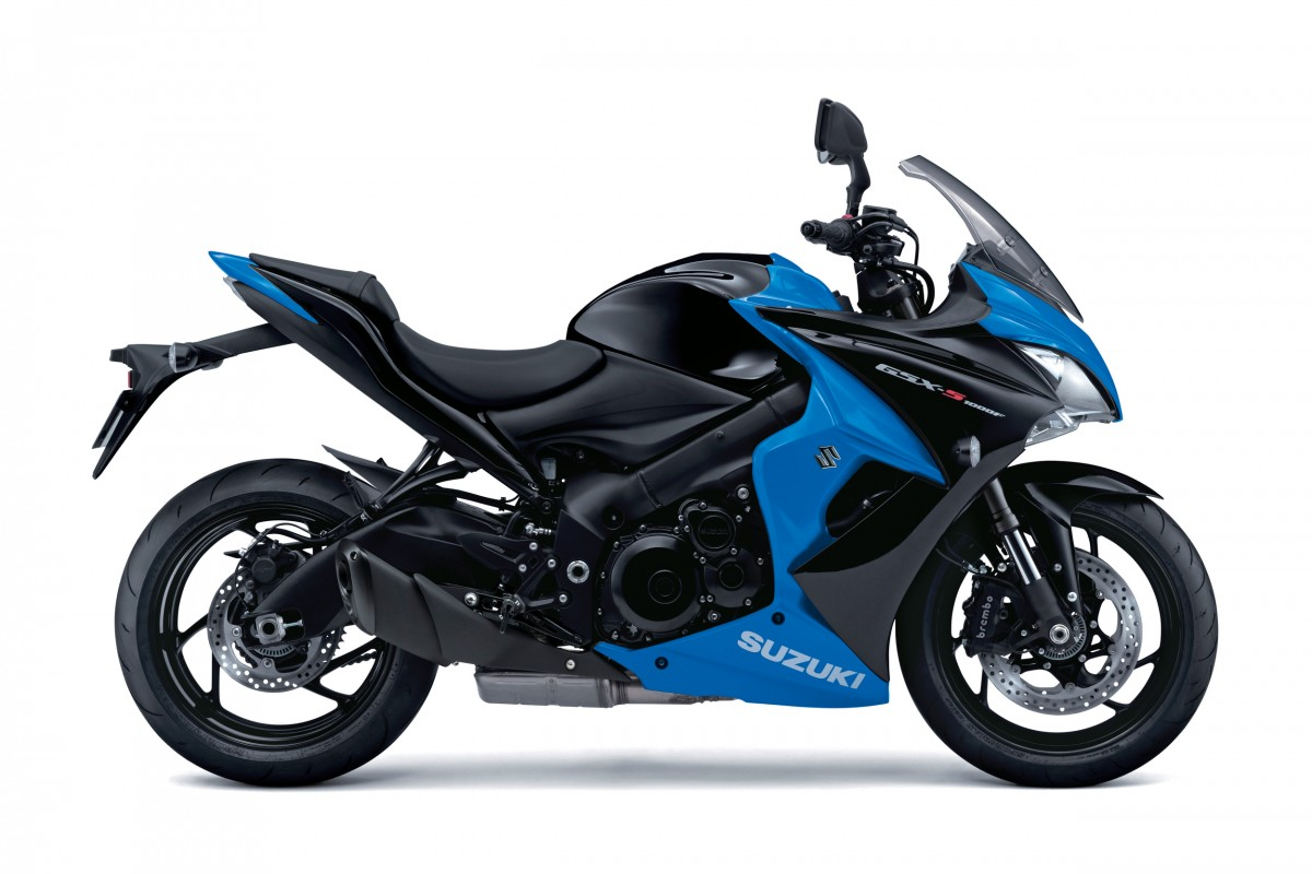 Metallic Triton Blue/Glass Sparkle Black GSX-S1000F