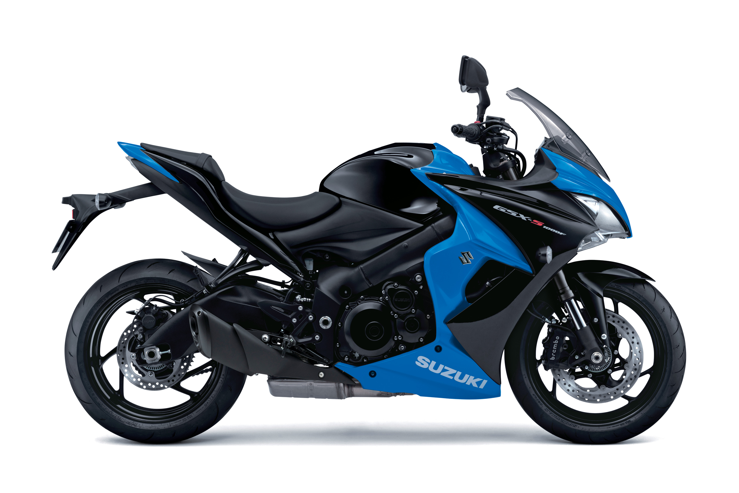 New Metallic Triton Blue/Glass Sparkle BlackSuzuki GSX-S1000F