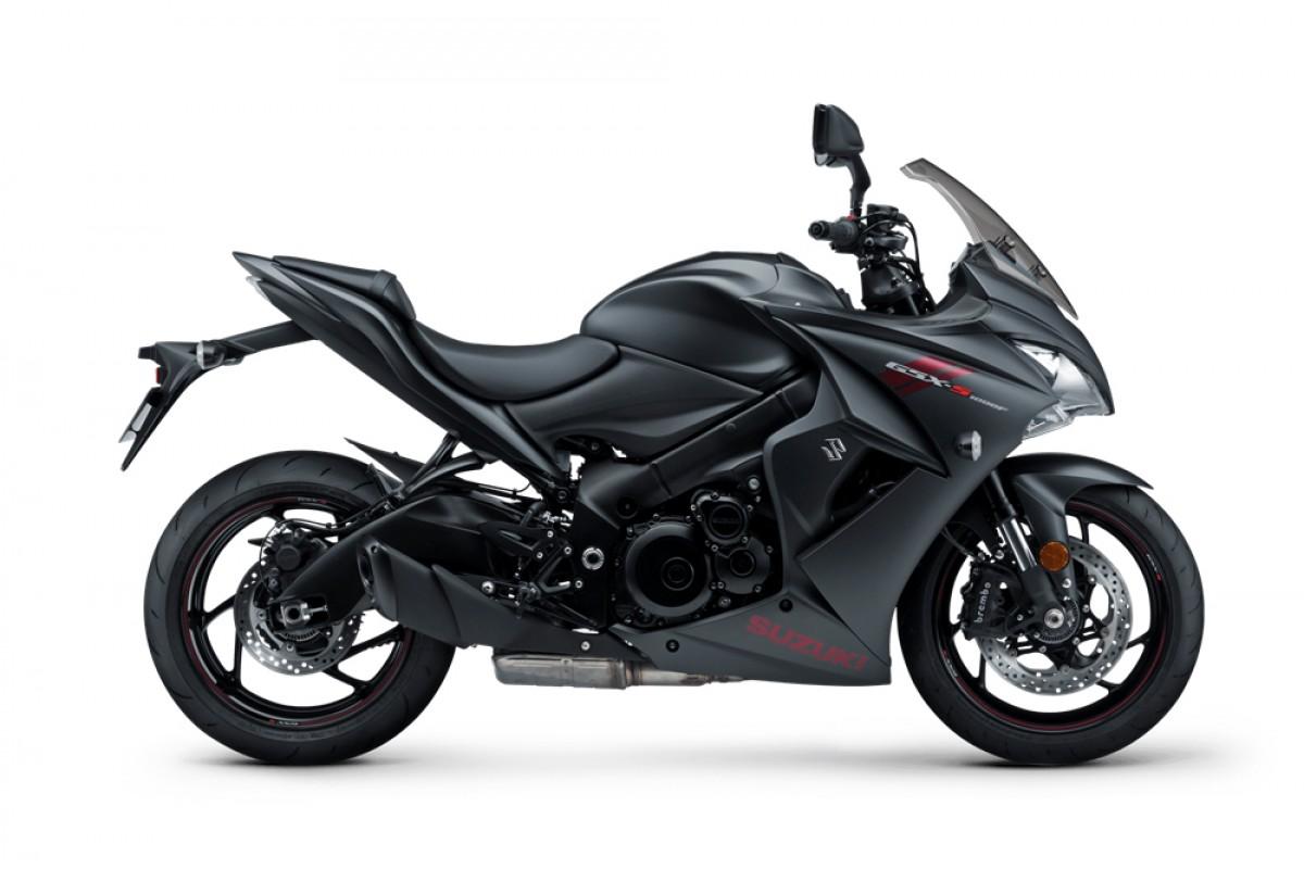 Black GSX-S1000FZ