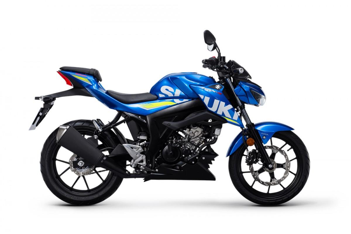 Blue GSX-S125 GP