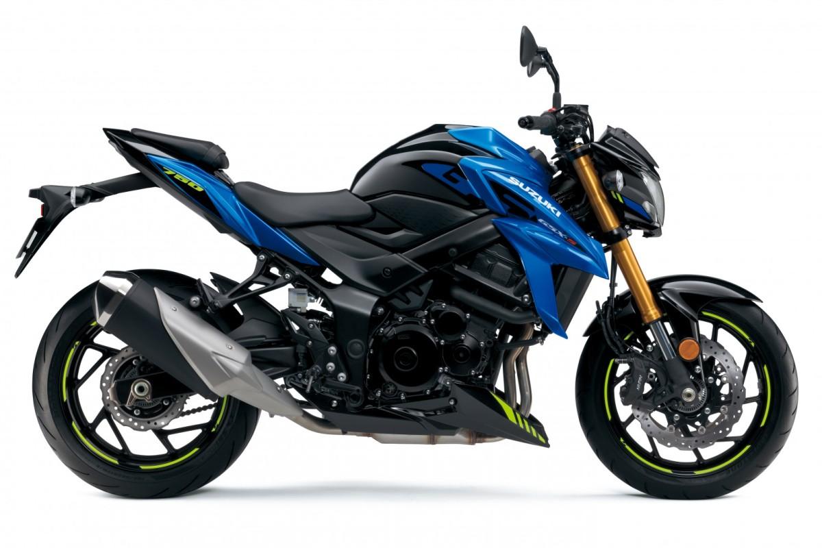 Blue GSX-S750