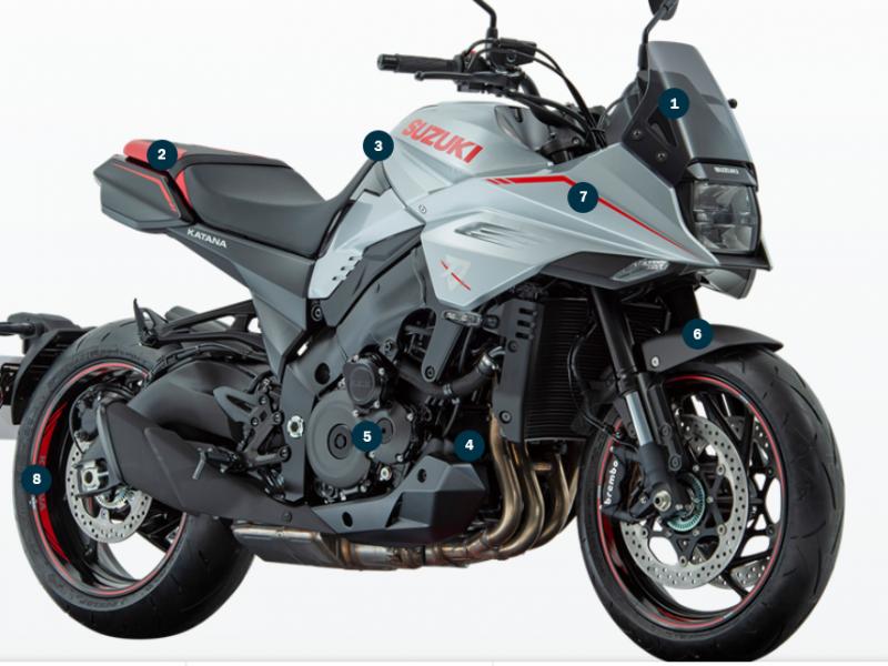 Suzuki Katana Pre Reg & Ex Demo's 2020