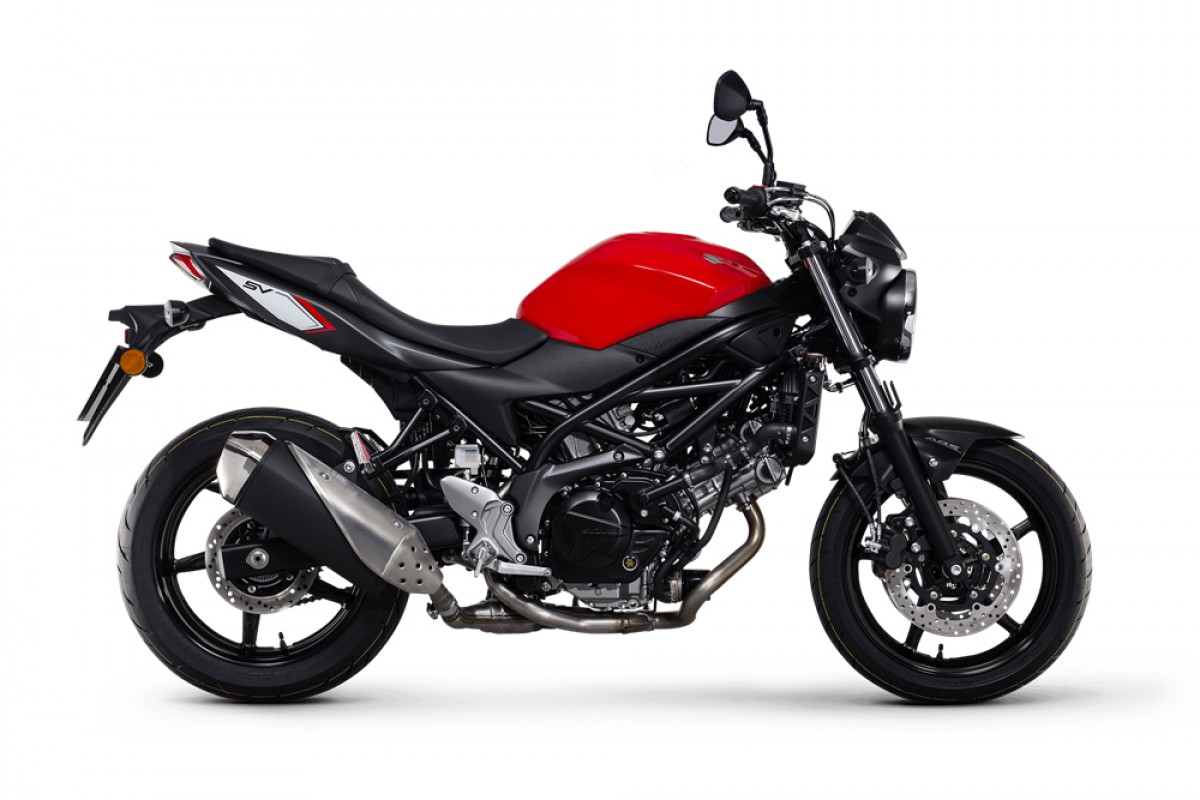 Red SV650 AM1 21Plate