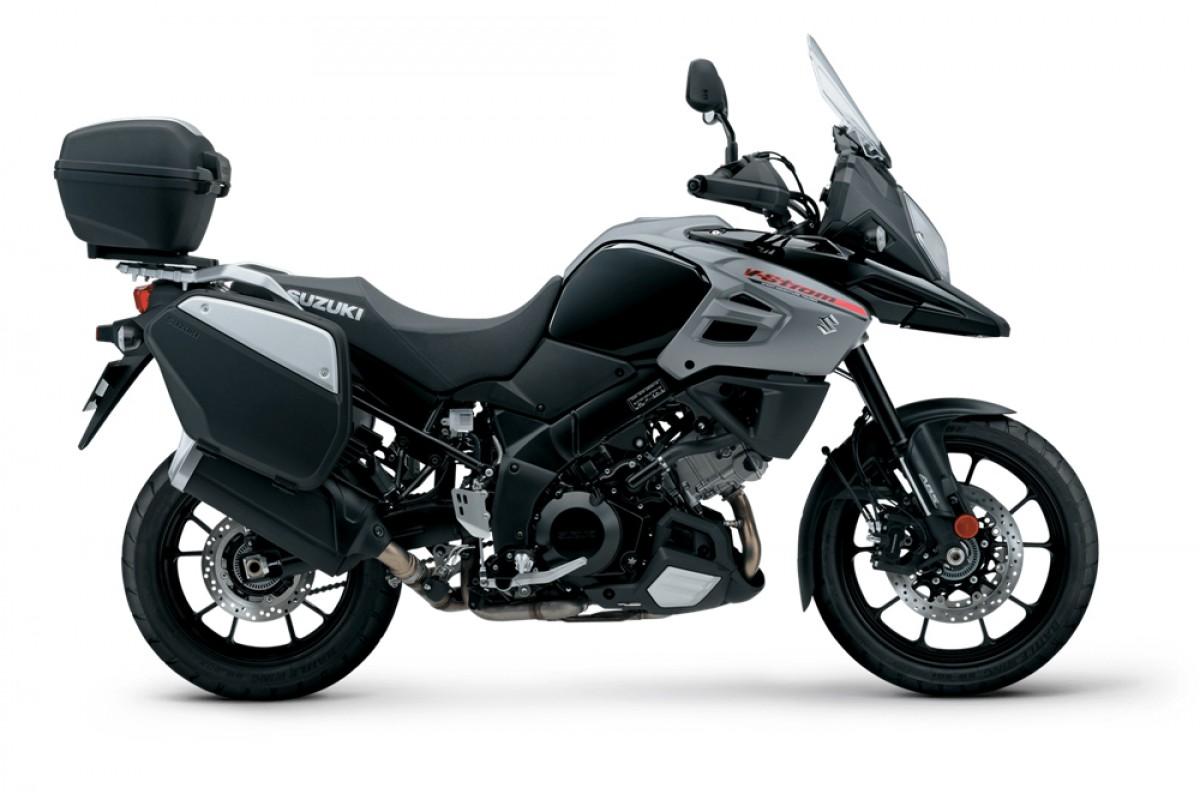 Black V-Strom 1000 Tourer +