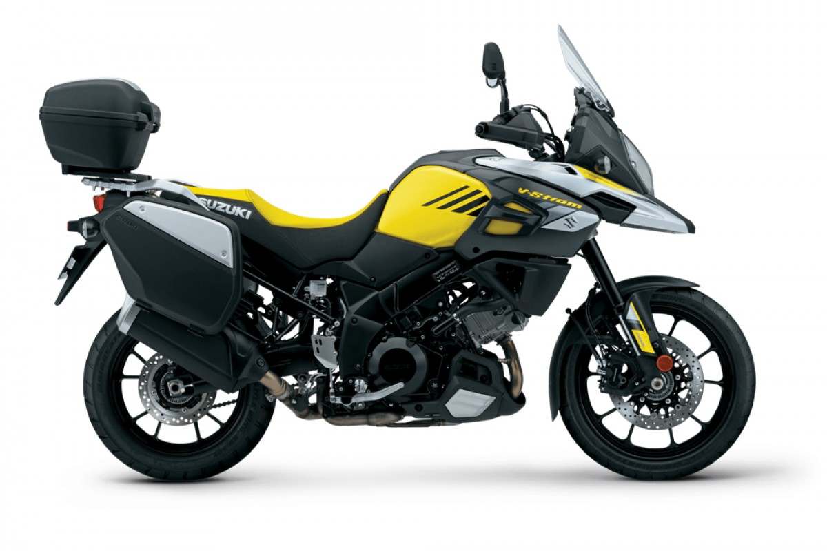 Yellow V-Strom 1000 Tourer +