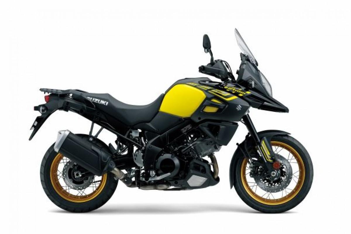 Yellow V-Strom 1000XT