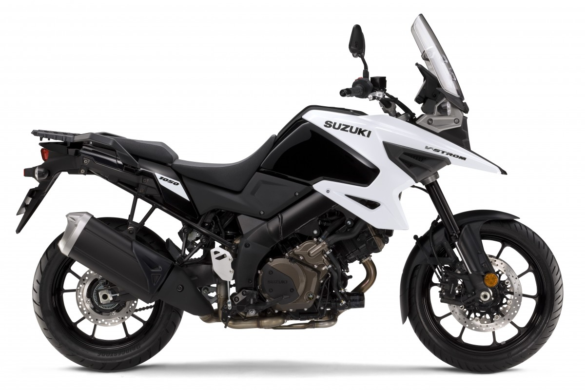 White 2020 V-Strom 1050 RQM0