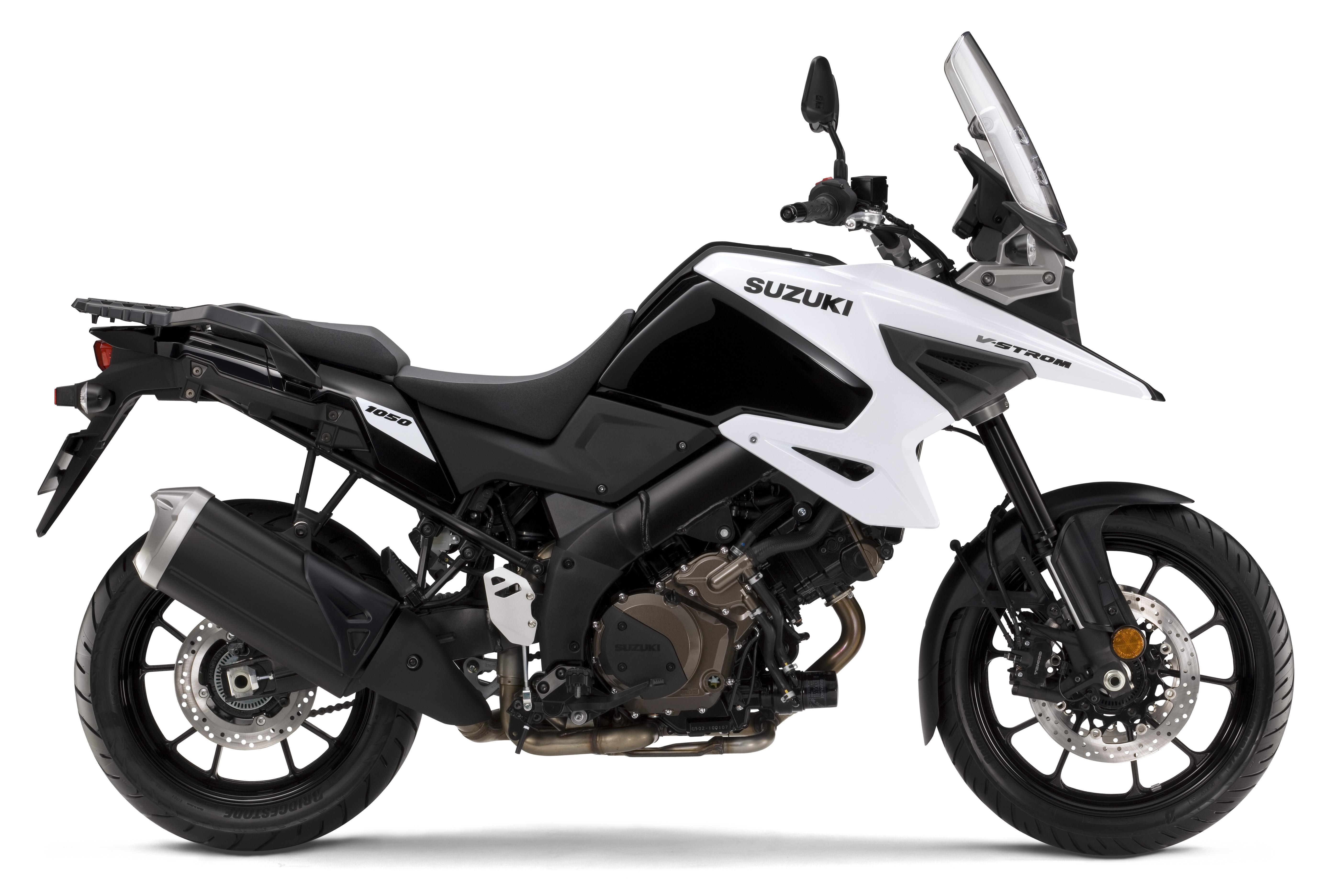 White 2020 V-Strom 1050