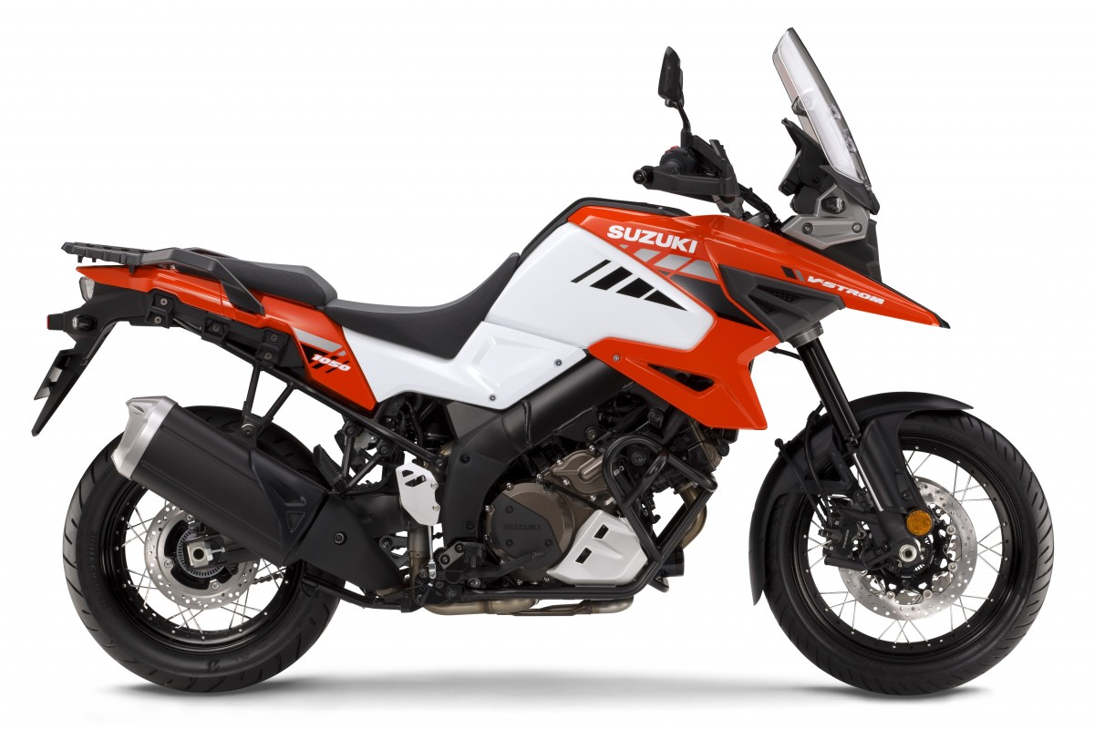 Red 2020 V-Strom 1050XT Explorer Edition RCM0