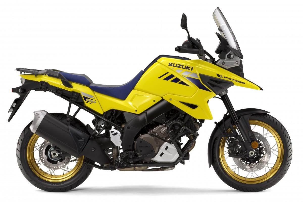 Yellow V-Strom RCM0 1050XT