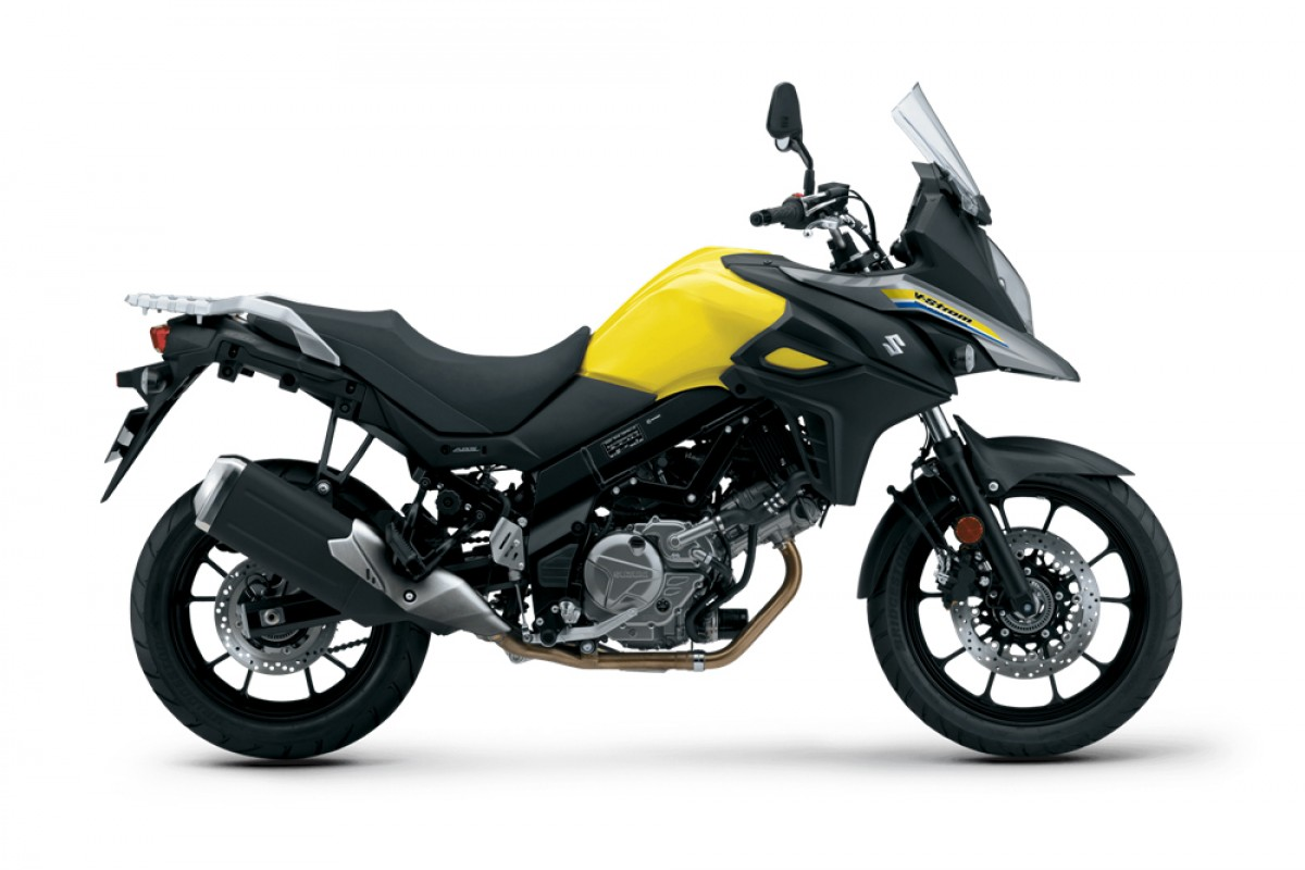 Yellow V-Strom 650 AM1 2021