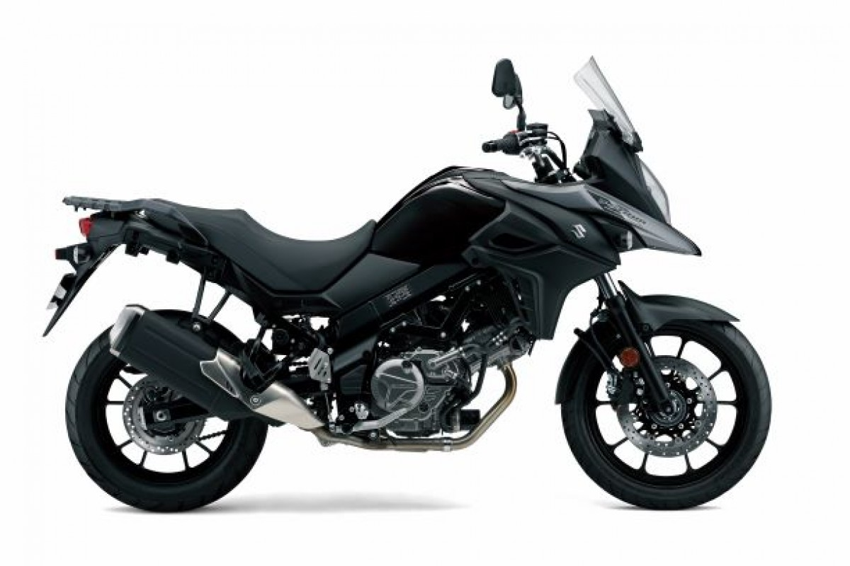 Black V-Strom 650 Adventure GTA
