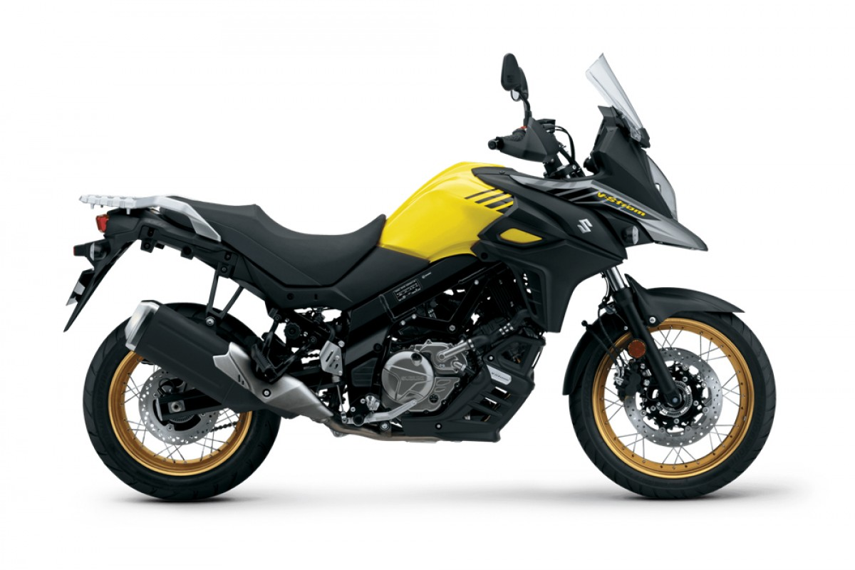 Yellow V-Strom 650XT AM1 2021 Model