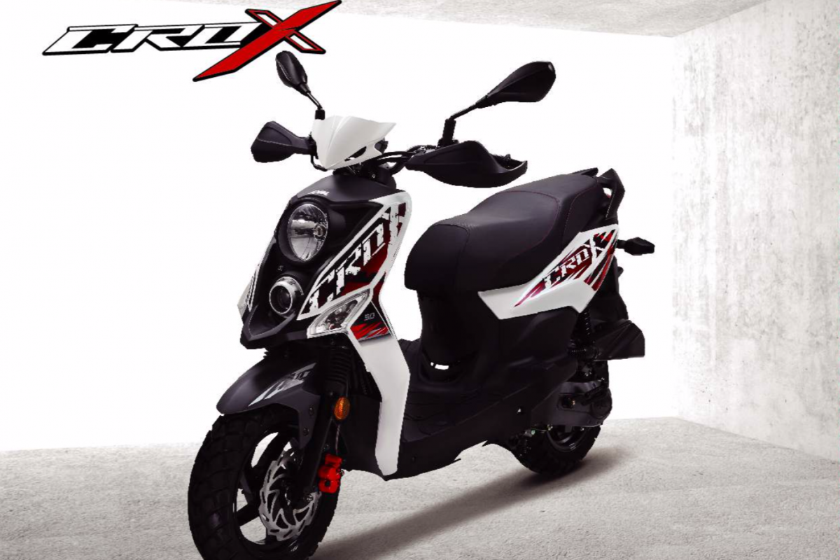 Sym Crox 125cc CBS E4 in Stock