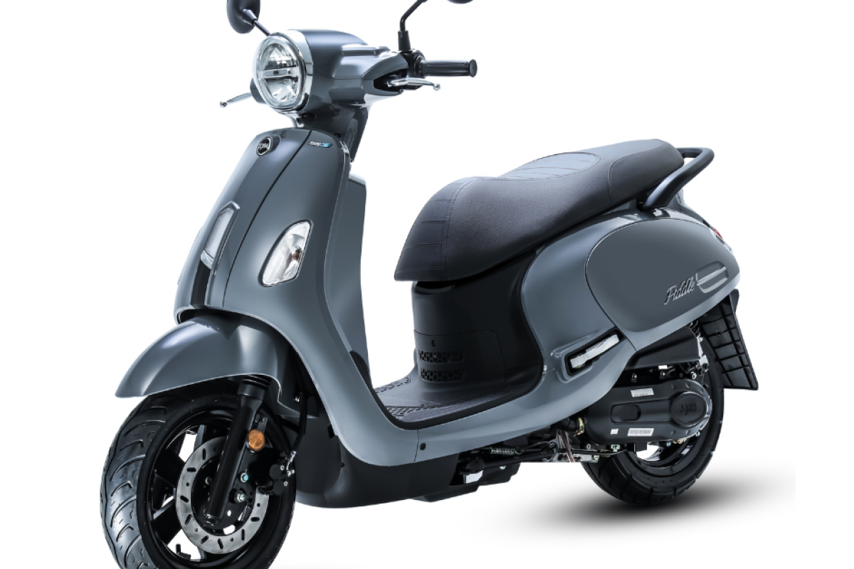 Grey Fiddle 125cc Euro 5