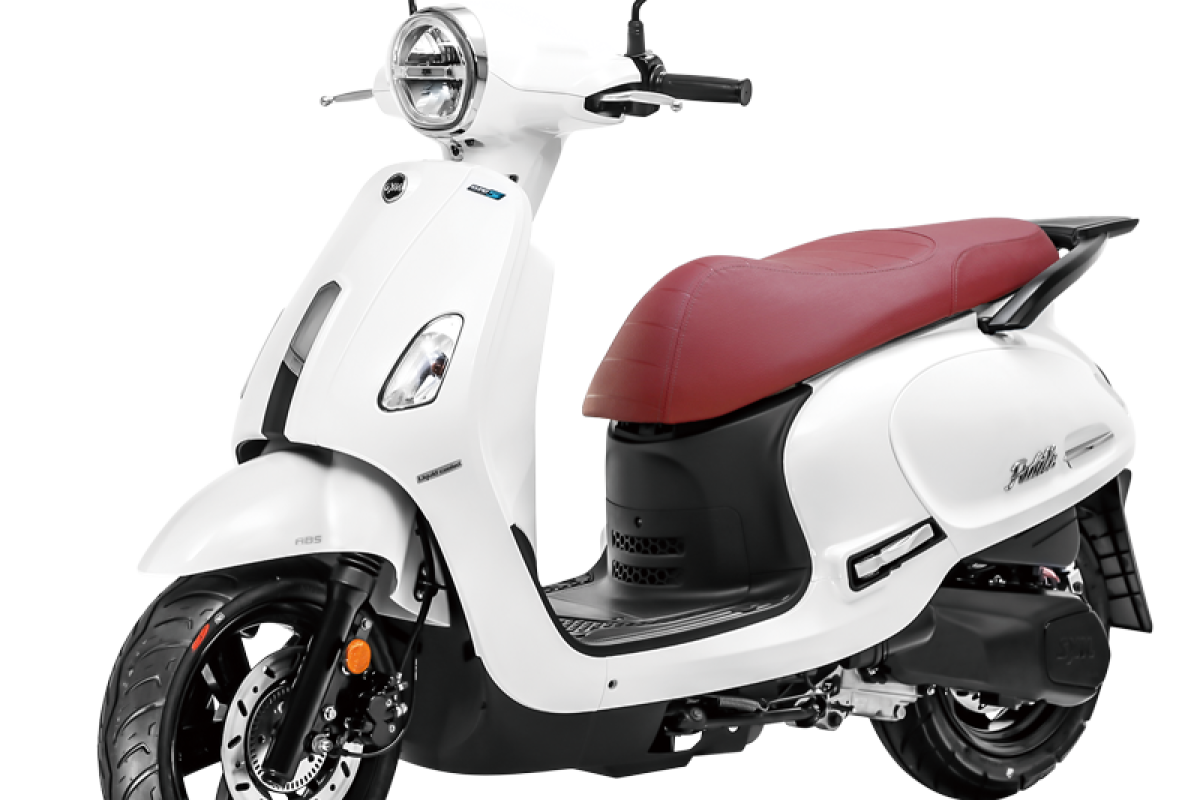 White Fiddle 125cc Euro 5