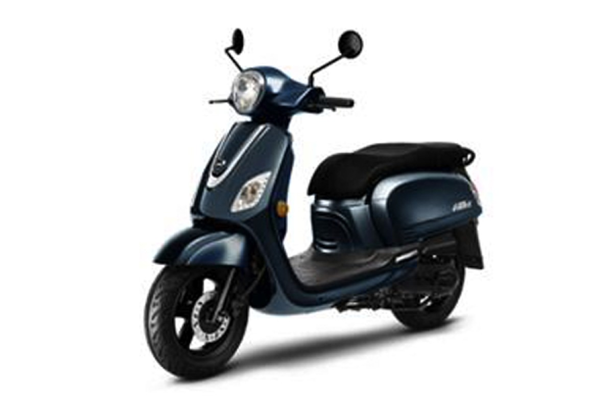 Blue Fiddle 125cc CBS E4