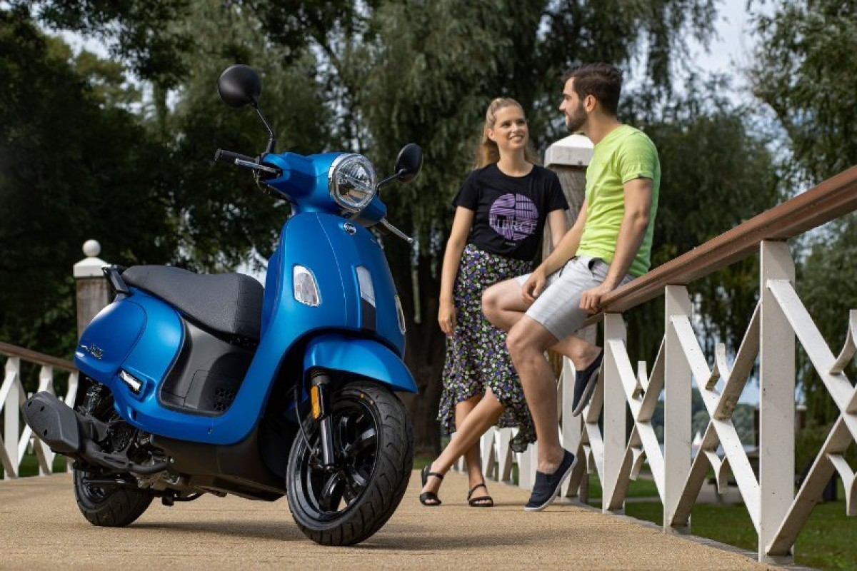 New Sym Fiddle 50cc E5