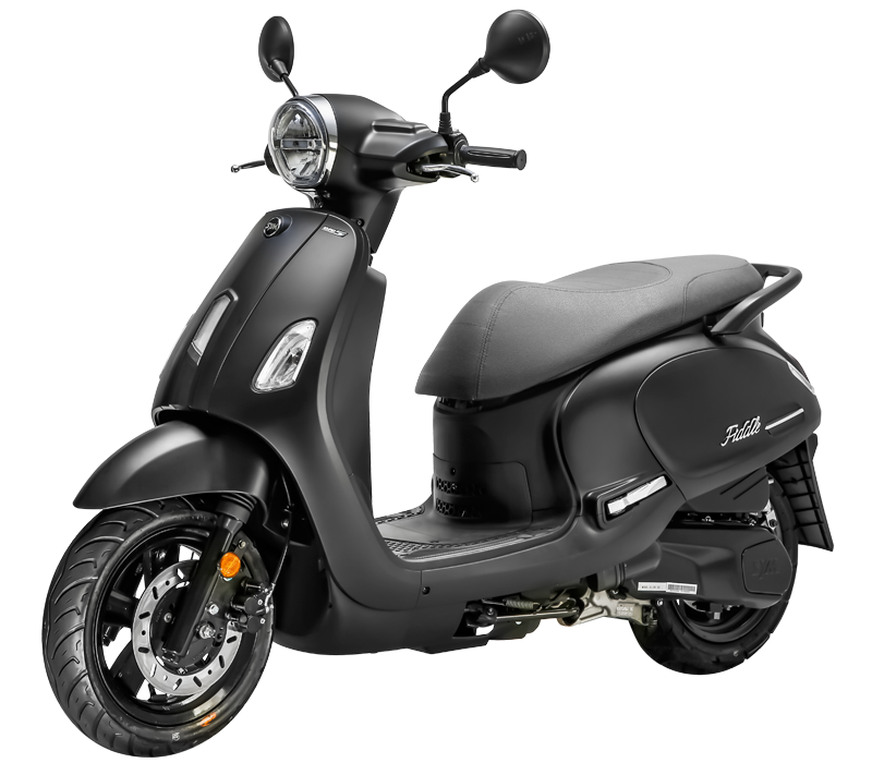 New BlackSym Fiddle 50cc E5