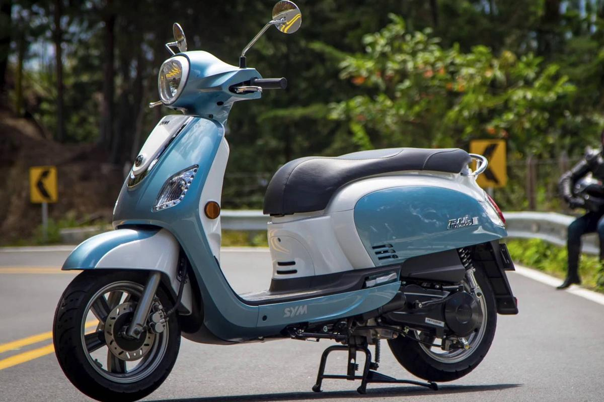 Sym Fiddle 50cc E4