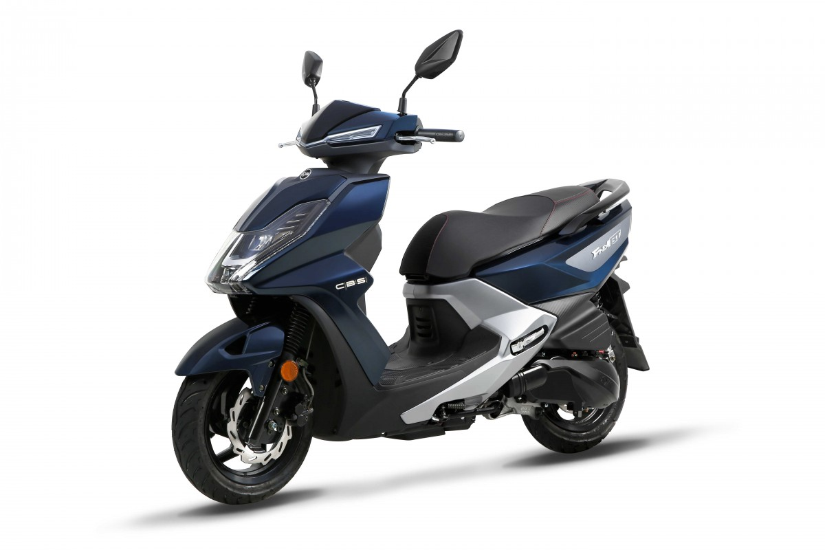 Dark Blue / Grey FNX 125cc CBS E4
