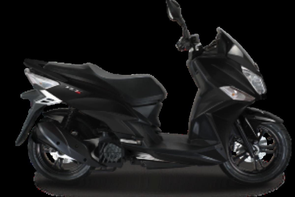 Satin Black Jet 14 125cc AC E5