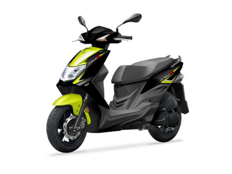Black/Lime Yellow Orbit 125cc E5