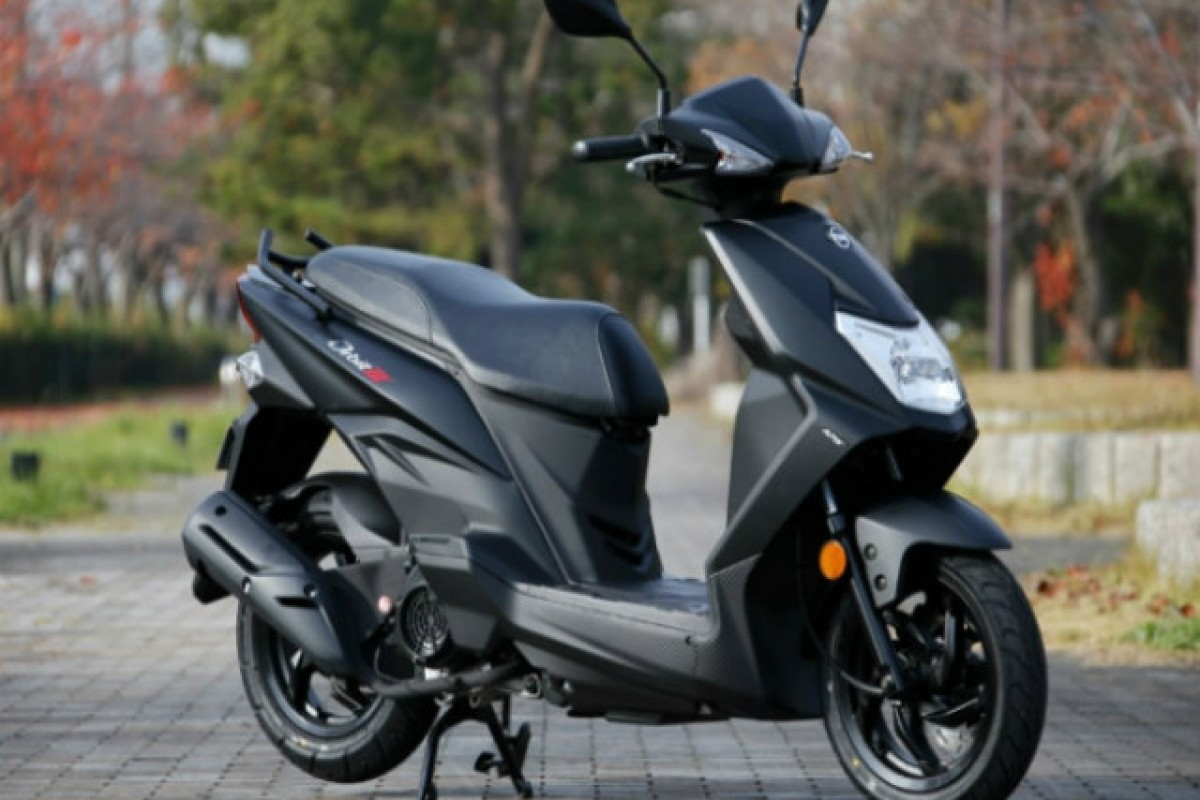 Sym Orbit 125cc E5 in Stock