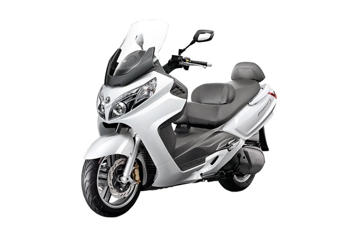 White Maxsym 600i ABS