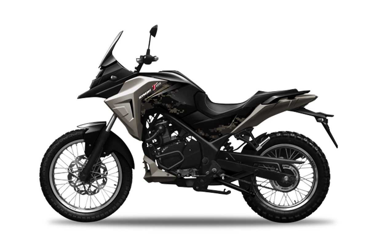 Black NHT 125cc